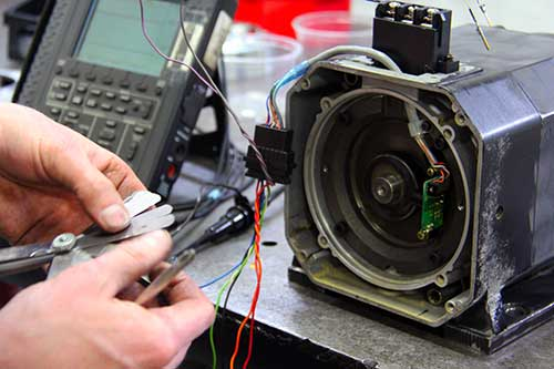 Ac servo motor repair servo repair experts for Allen bradley servo motor repair