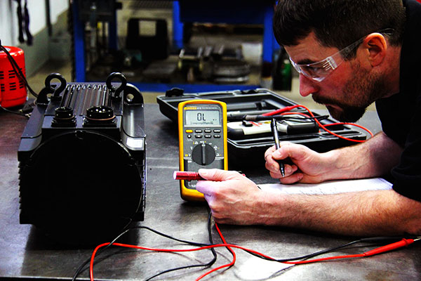 Servo motor repair over 25 years expert service at for Allen bradley servo motor repair