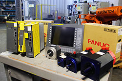 We are an Industry Leader in Fanuc Servo Motors, Amplifiers, Power supplies, and more!
