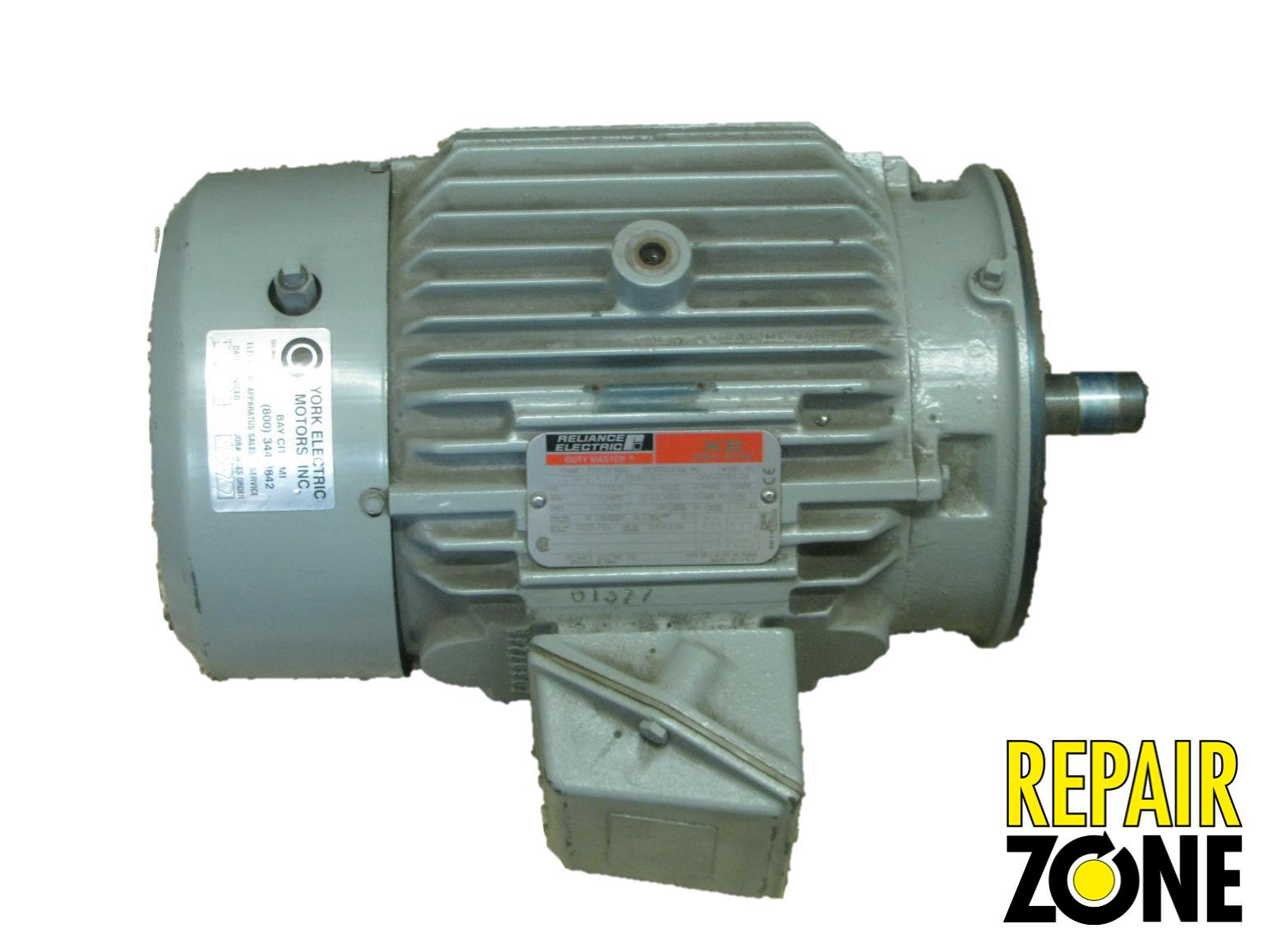 P18g1133d reliance three phase motors remanufactured ebay for 3 phase motor troubleshooting