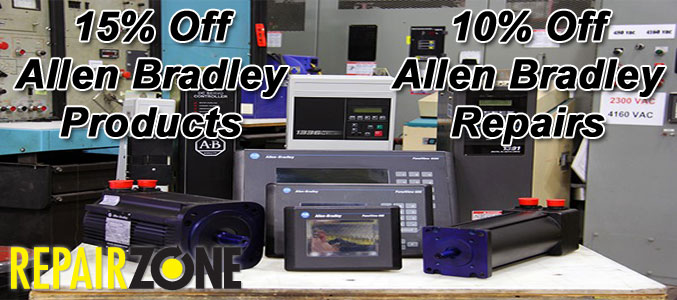 15% OFF ALL ALLEN BRADLEY PRODUCTS