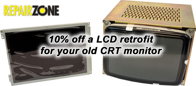 10% off a LCD retrofit for you old CRT monitor