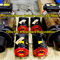 What is a Standard Recondition for a Servo Motor